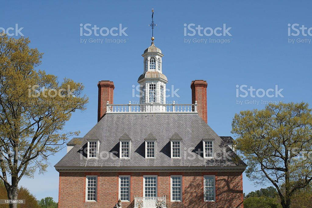 Governor's Palace royalty-free stock photo