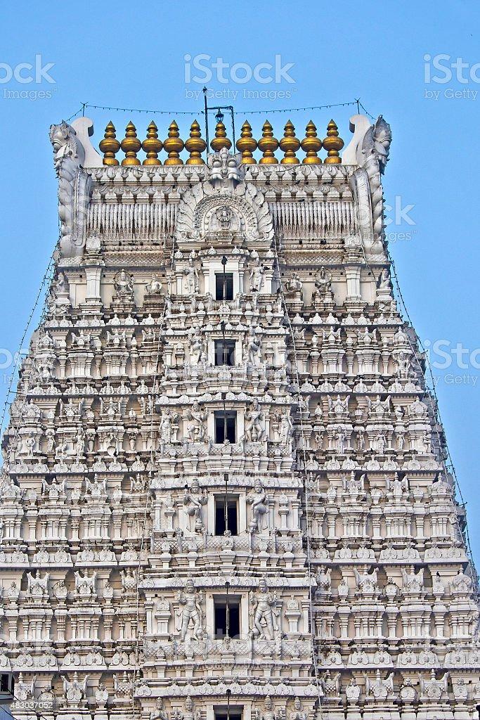 Govindaraj Swami temple stock photo