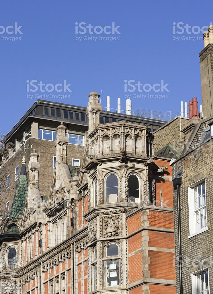 Gower Street in Camden, London royalty-free stock photo