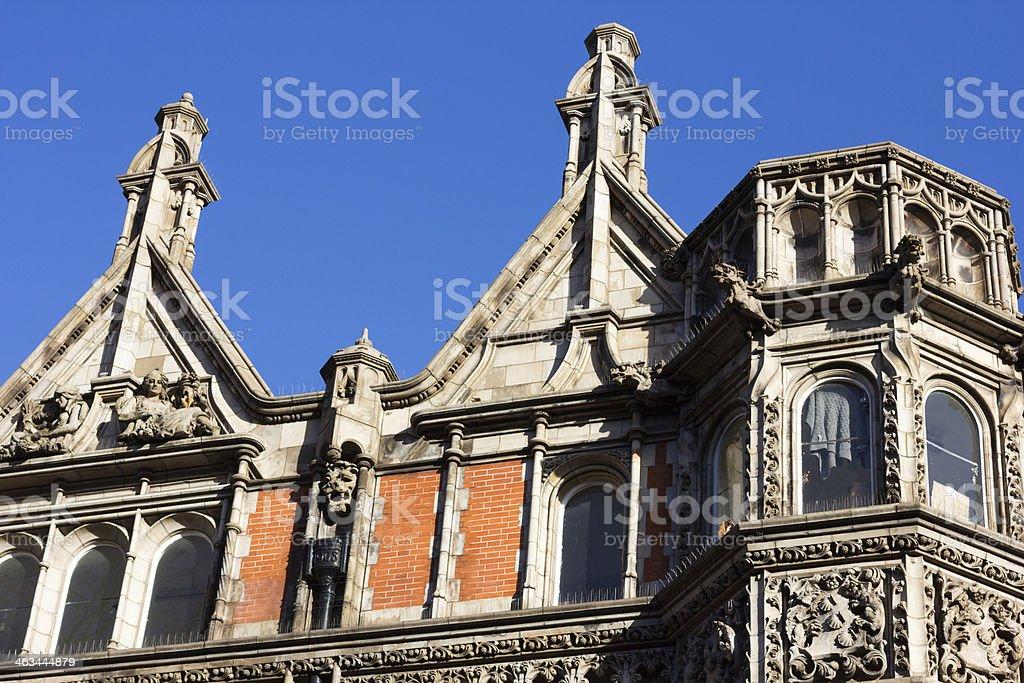 Gower Street in Camden, London royalty-free stock photo