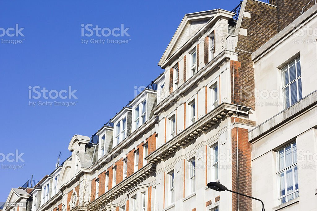 Gower Street in London, England royalty-free stock photo