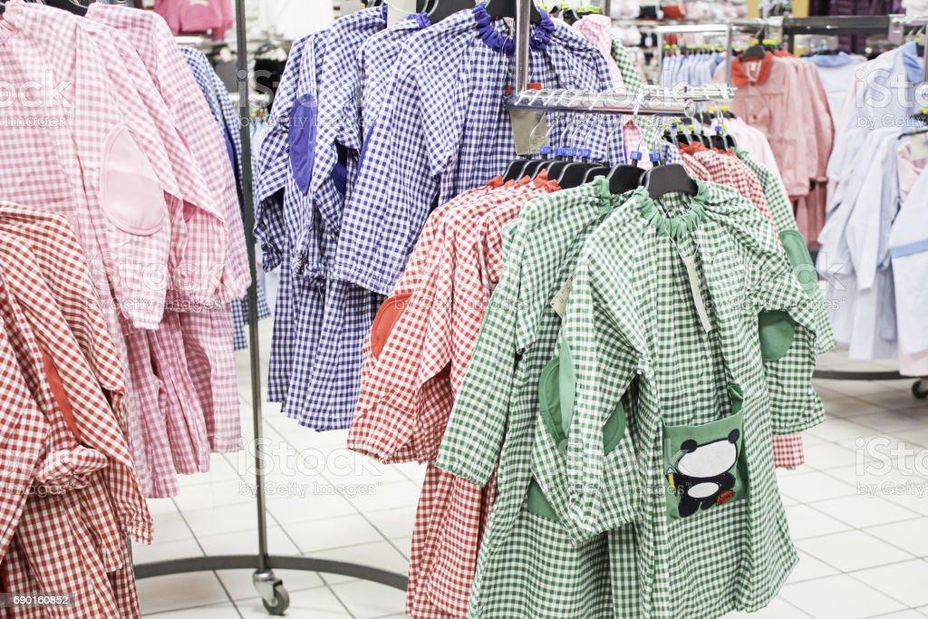 Gowns school stock photo