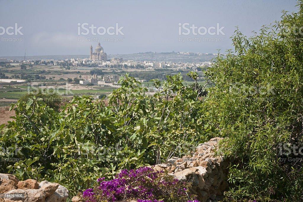 Gozo Citadel royalty-free stock photo