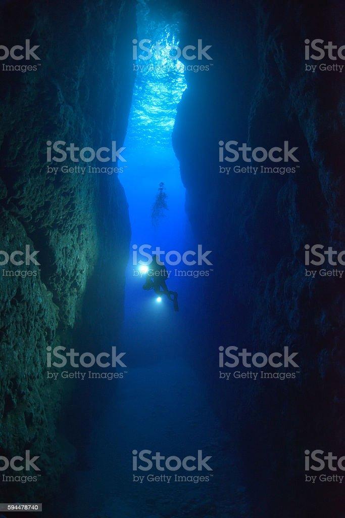Gozo Inland sea foto royalty-free