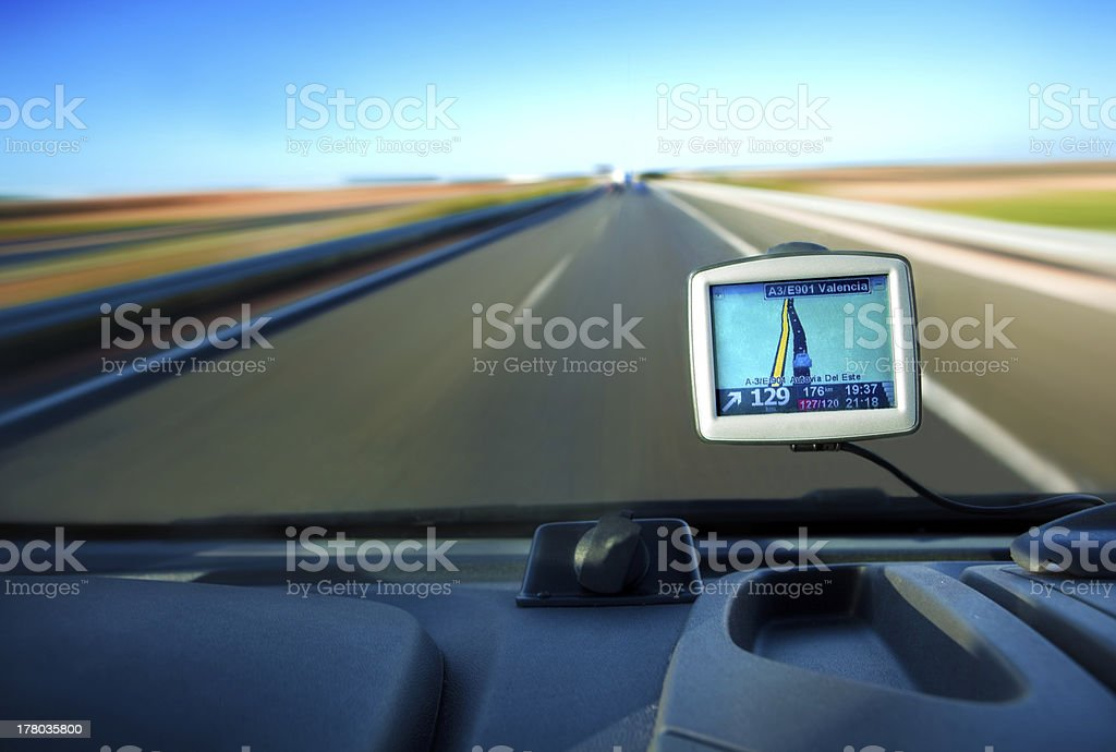 gps concept stock photo