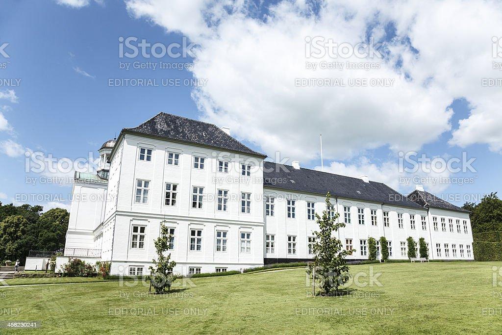 Graasten castle royalty-free stock photo