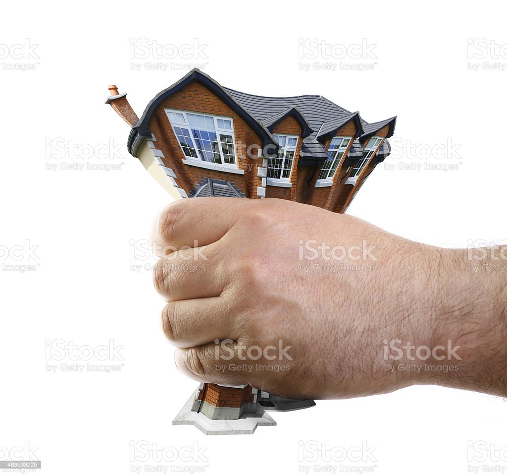 grab a house stock photo