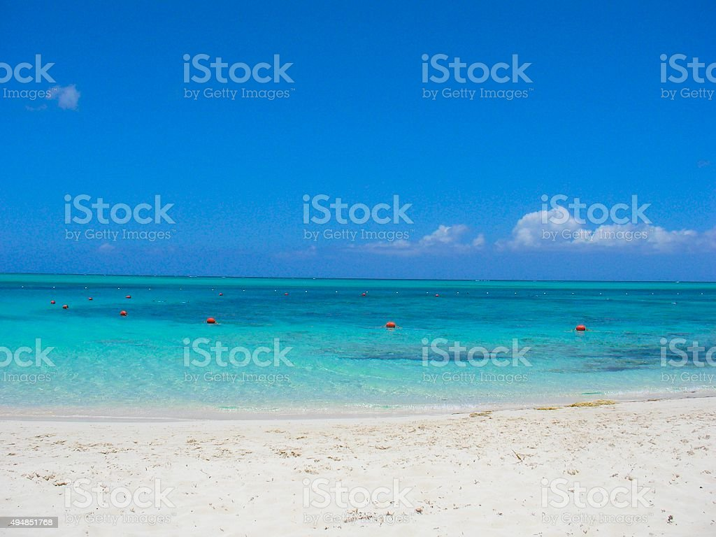 Grace Bay stock photo
