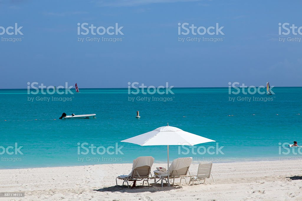 Grace Bay, Providenciales stock photo