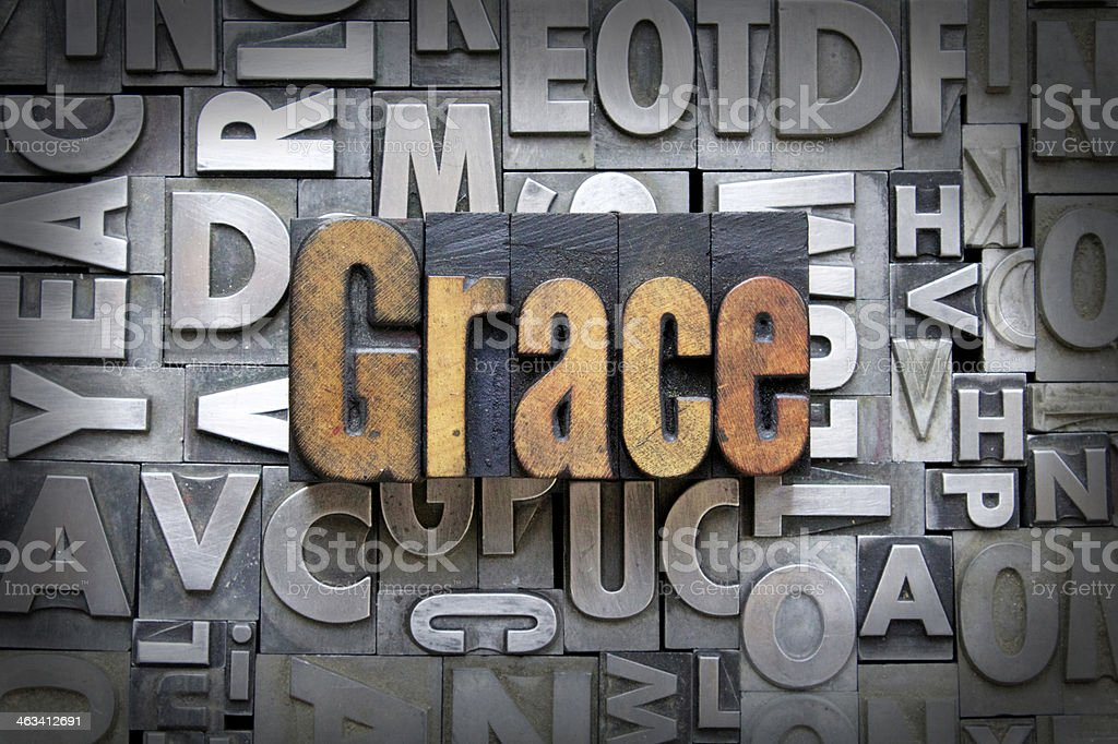 Grace stock photo