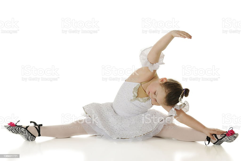 Graceful Stretch royalty-free stock photo