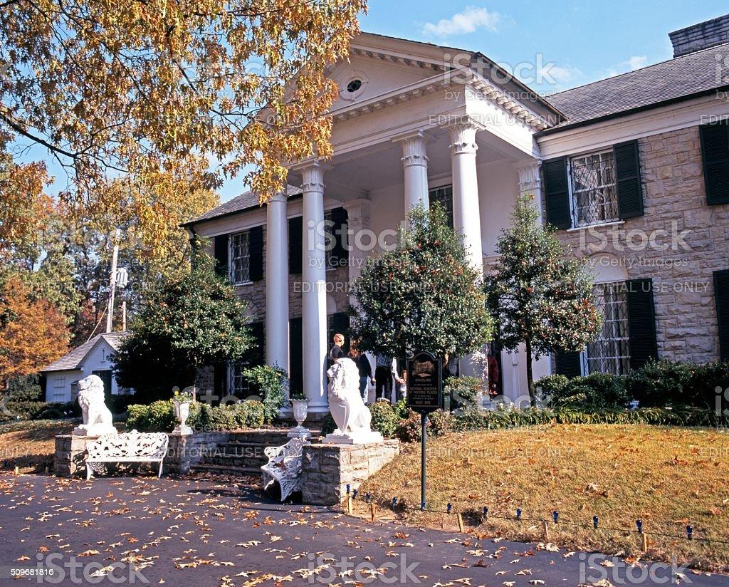 Graceland, Memphis. stock photo