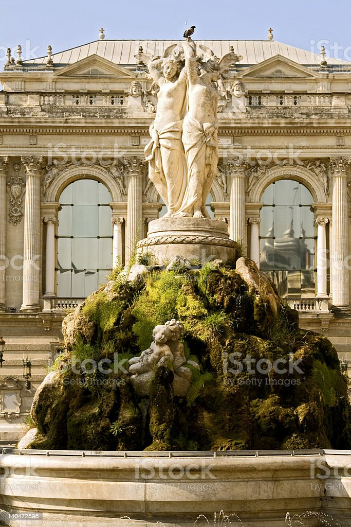 Graces of the Opera royalty-free stock photo