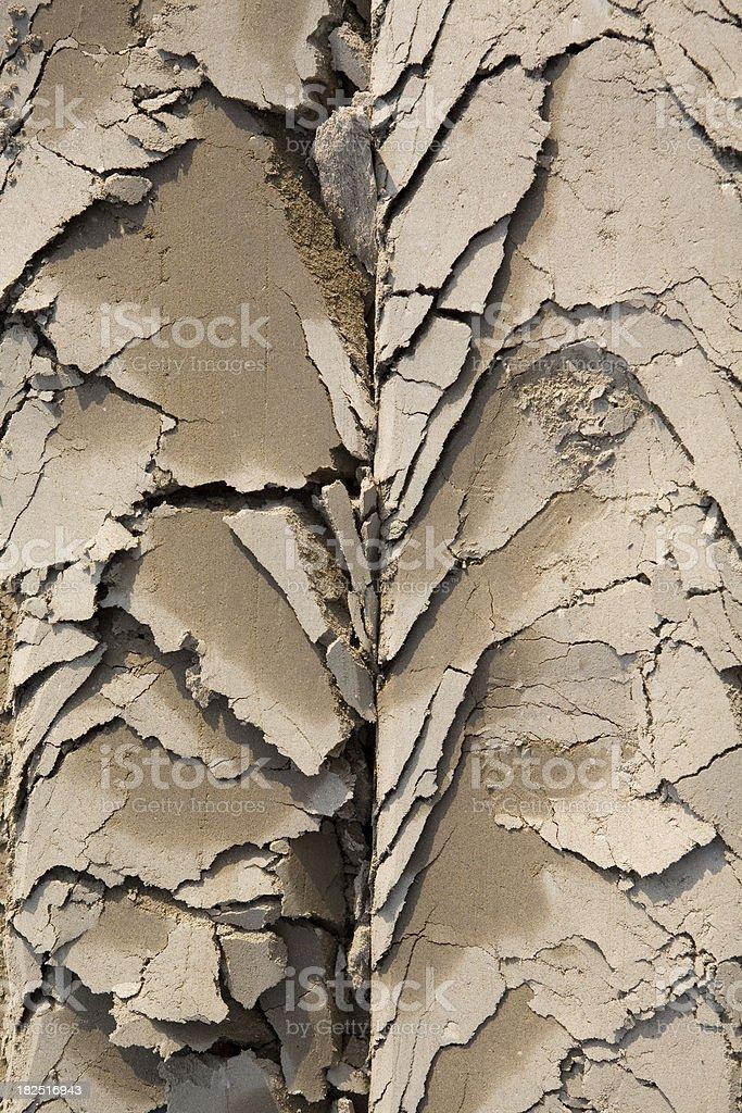 Gracked ground stock photo