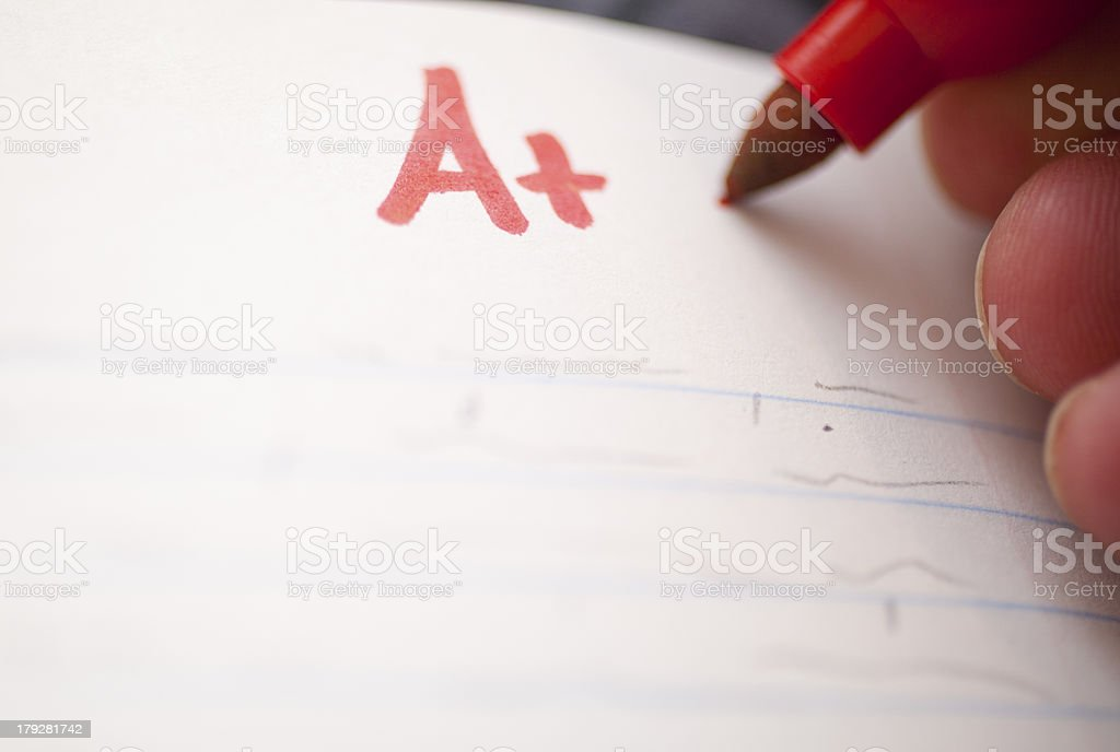 Grade A+ stock photo