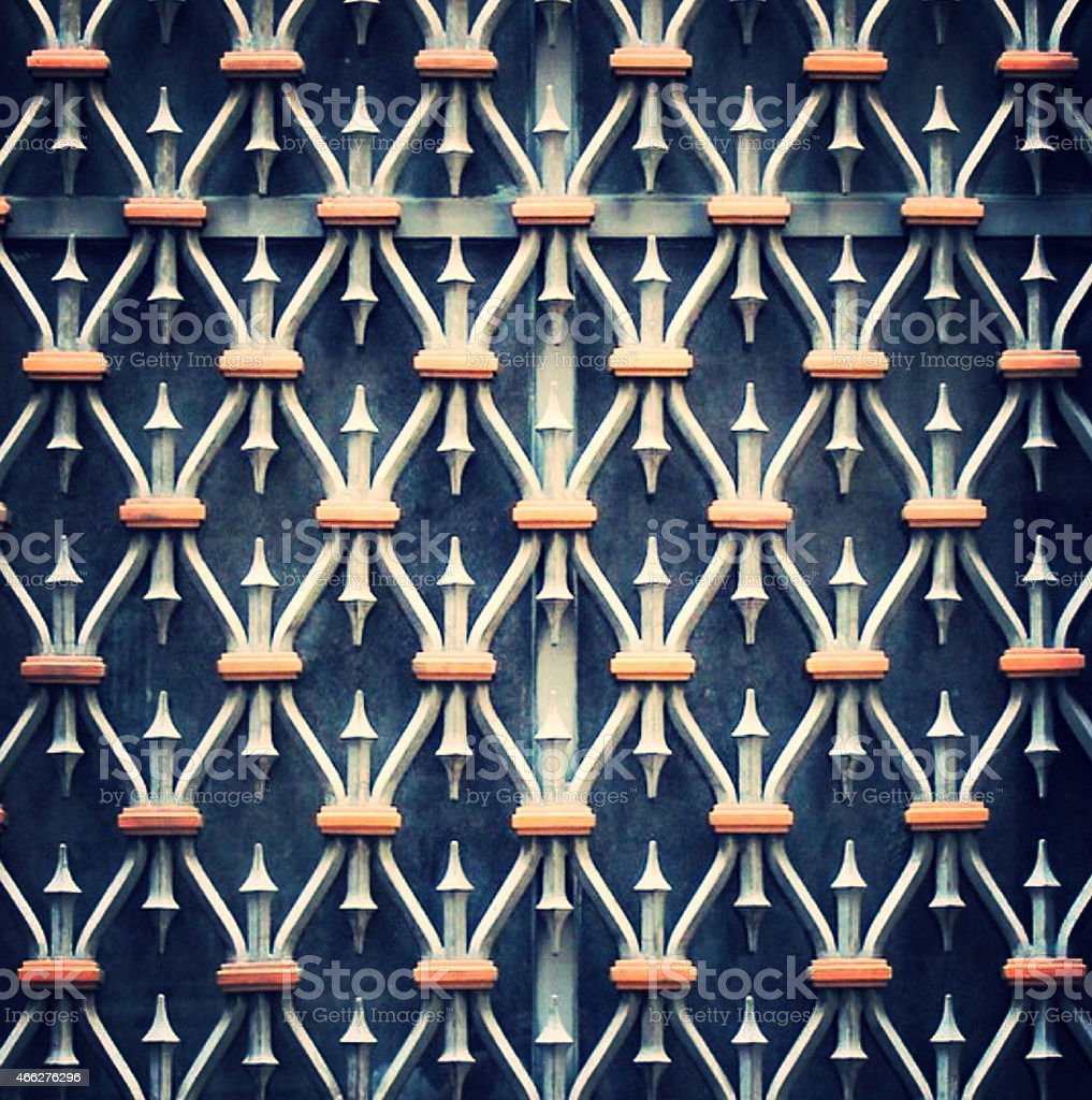 Grade geométrica stock photo