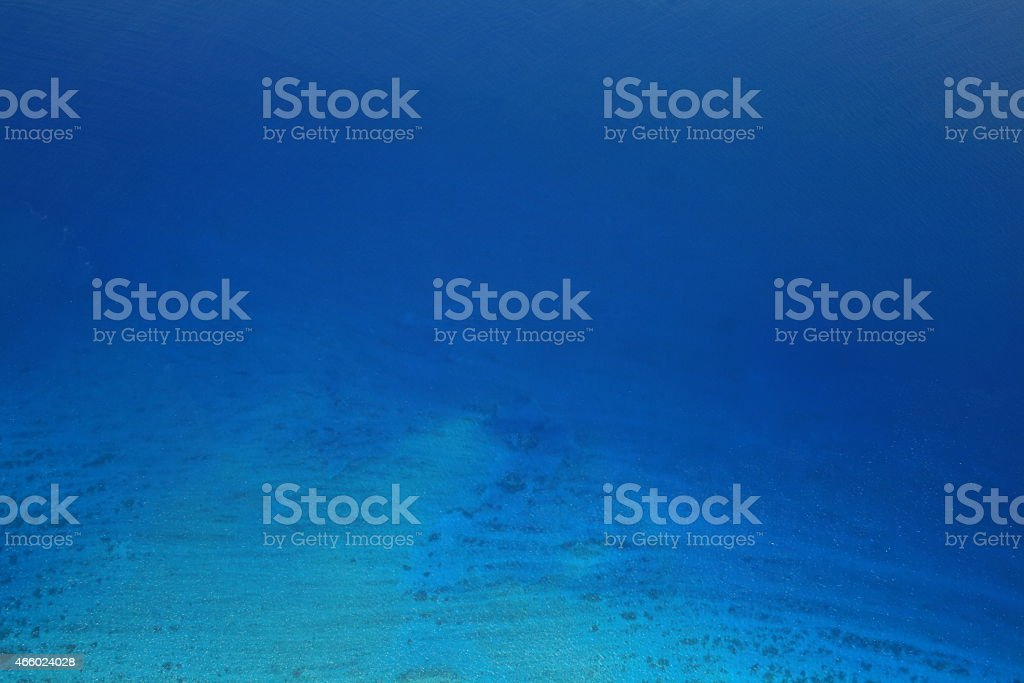 D?grad? du bleu de la mer stock photo