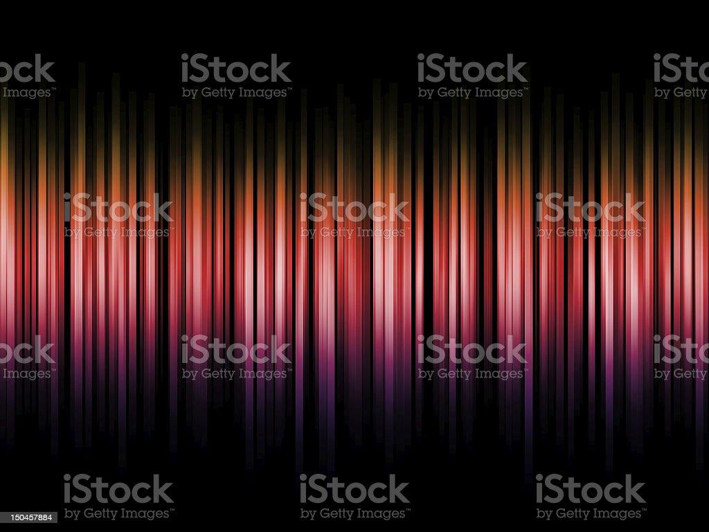Gradient bars background stock photo