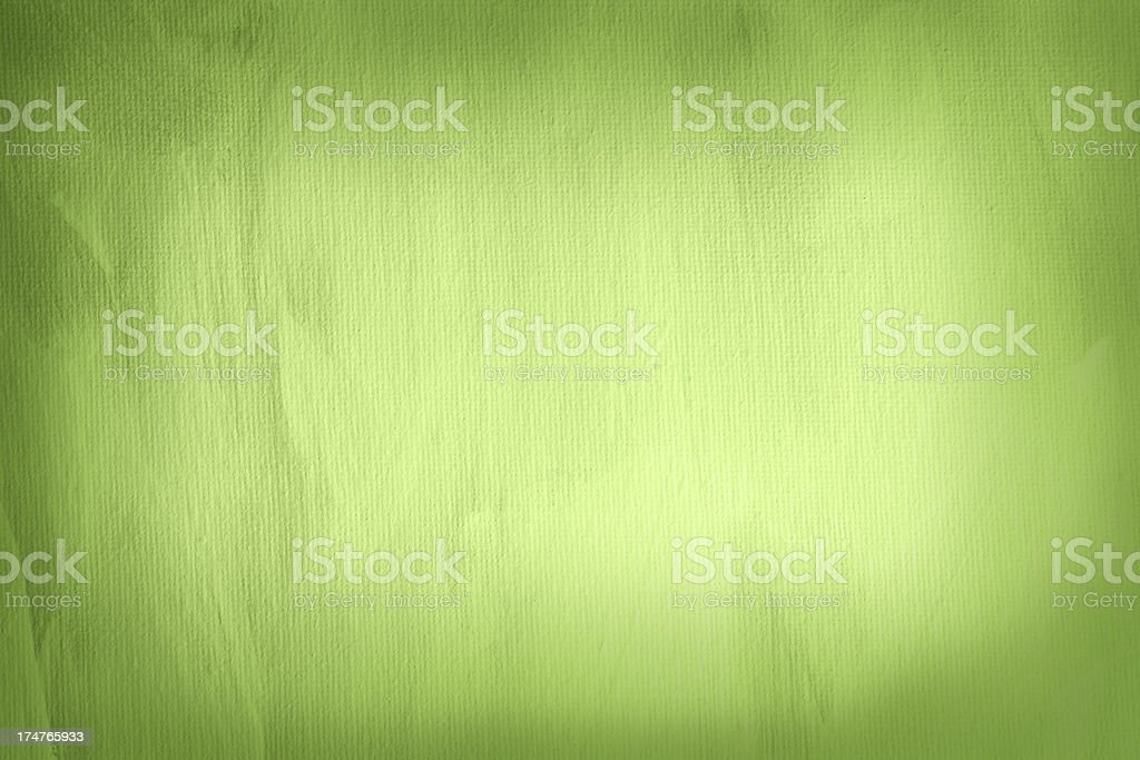 A gradient green painted background  stock photo