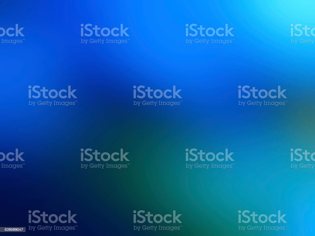 Gradient of the deep blue sea. stock photo
