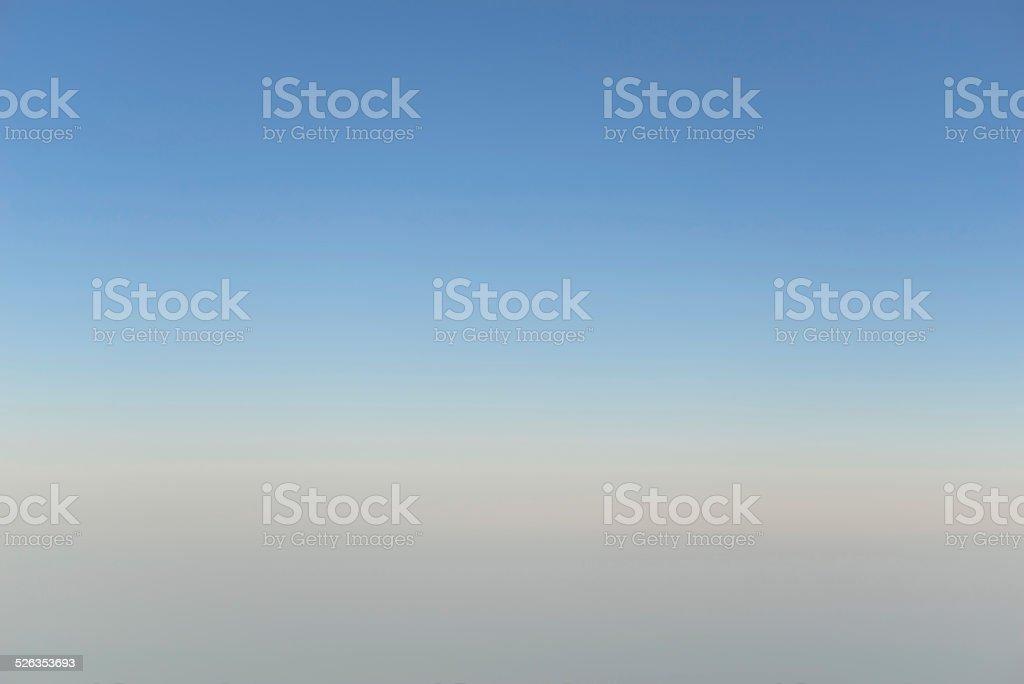 Gradient Sky Background stock photo