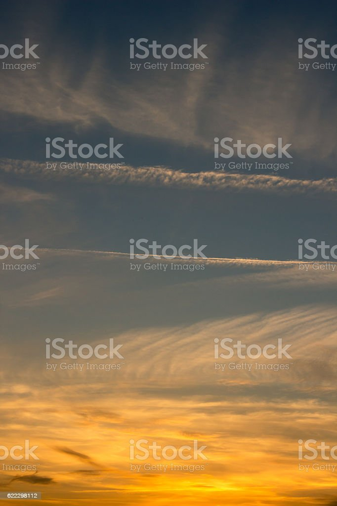 Gradient sky. royalty-free stock photo