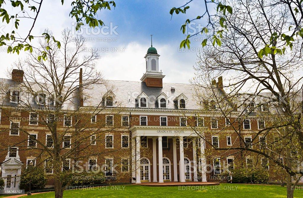 Graduate Life Center at Virginia Tech royalty-free stock photo