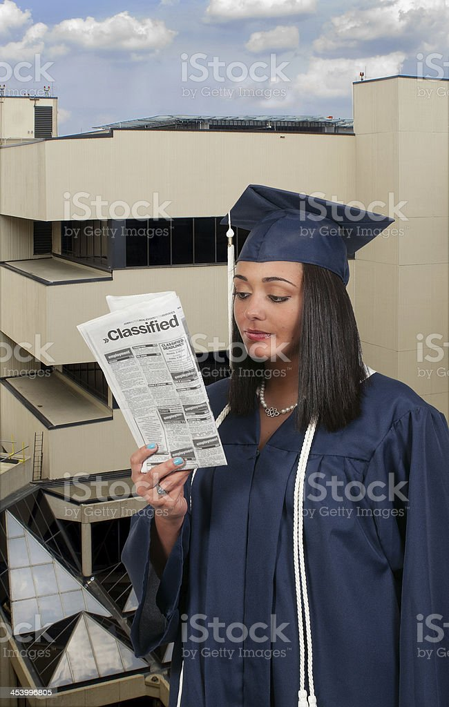 Graduate royalty-free stock photo