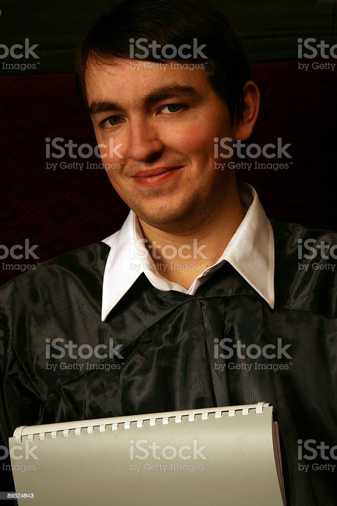 Graduate royalty-free stock photo