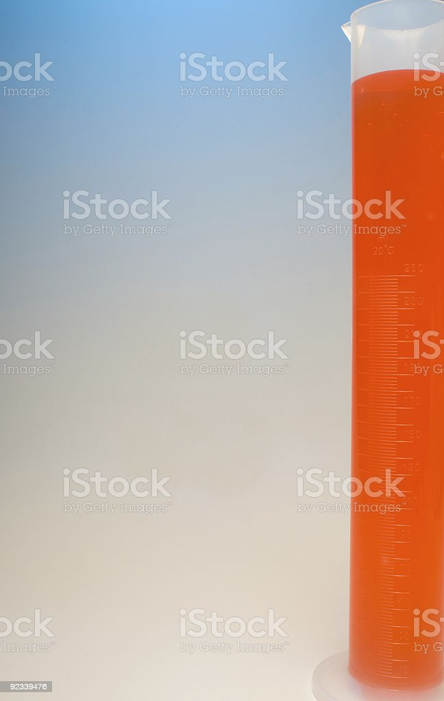 Graduated Cylinder royalty-free stock photo
