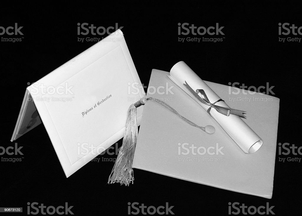 Graduation 1 royalty-free stock photo