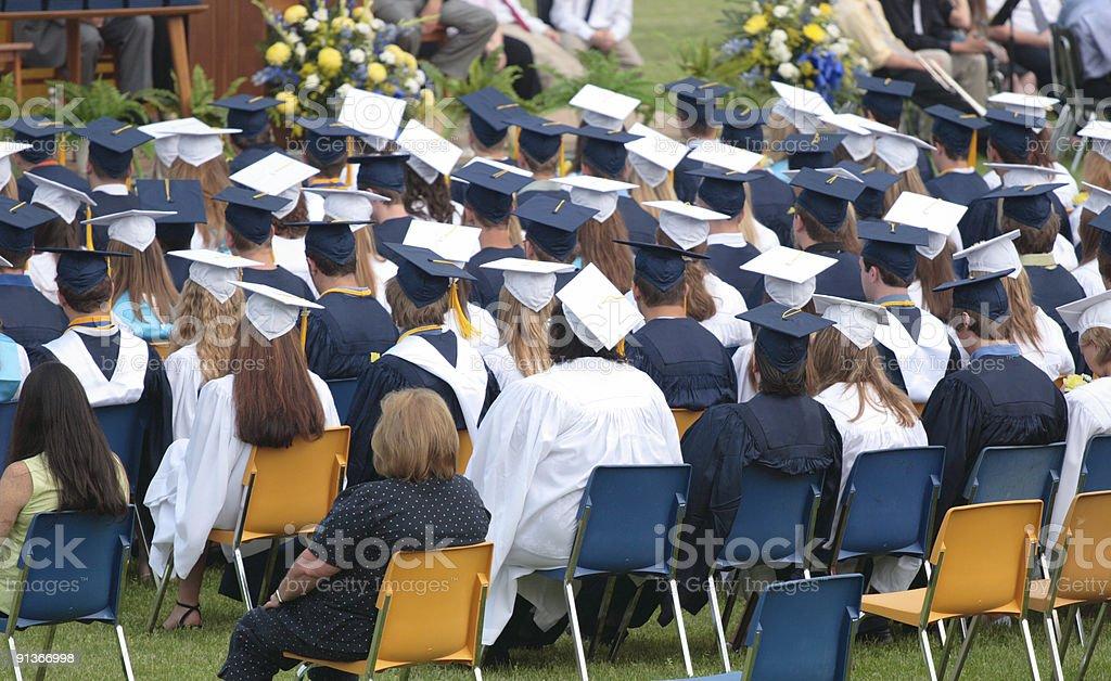 Graduation 2 royalty-free stock photo