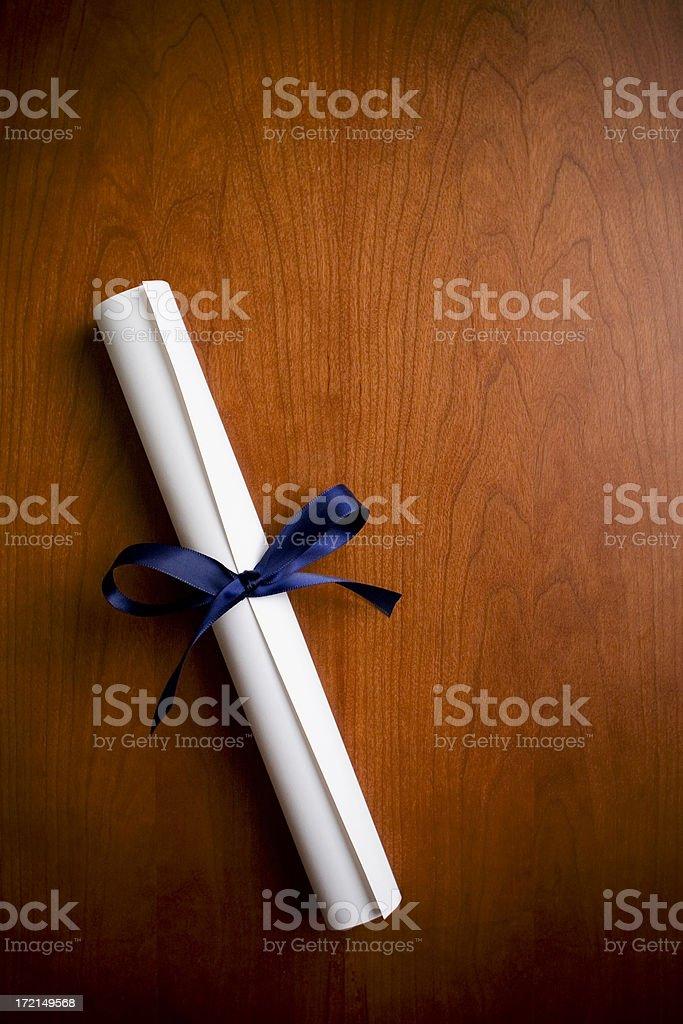 Graduation Announcement royalty-free stock photo