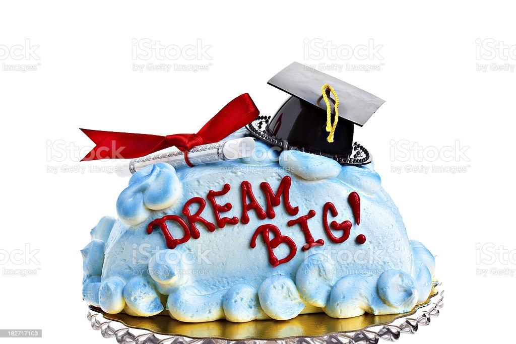 Graduation Cake royalty-free stock photo