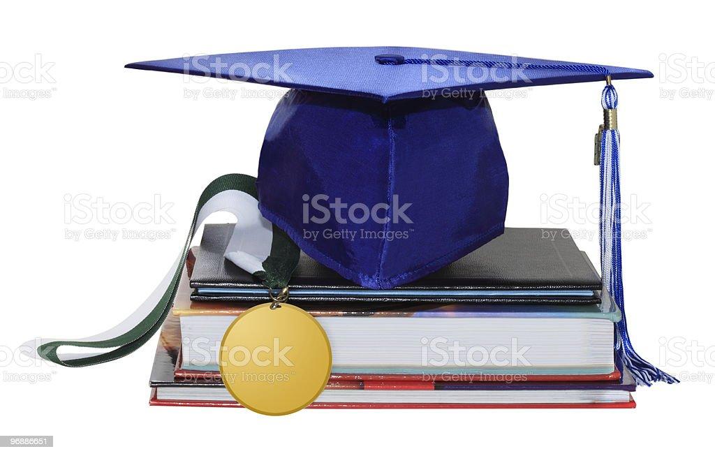 Graduation Cap royalty-free stock photo