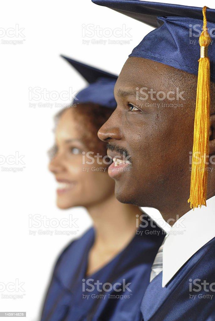 Graduation ceremony royalty-free stock photo