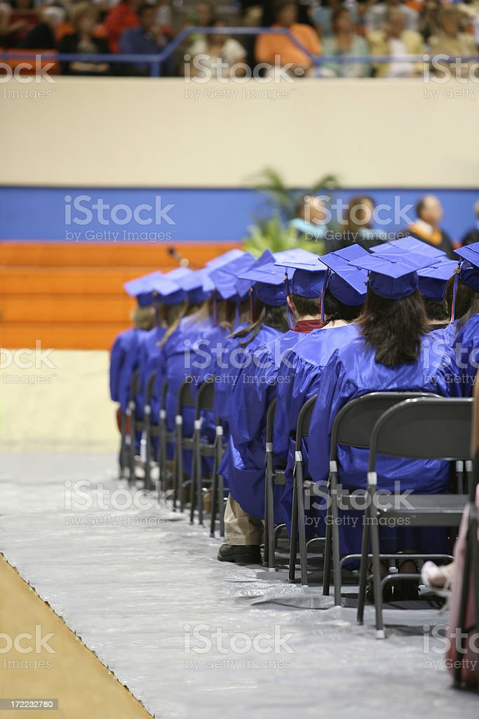 Graduation Ceremony stock photo