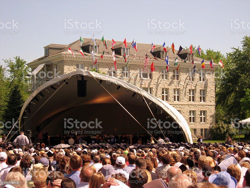 Graduation Day royalty-free stock photo