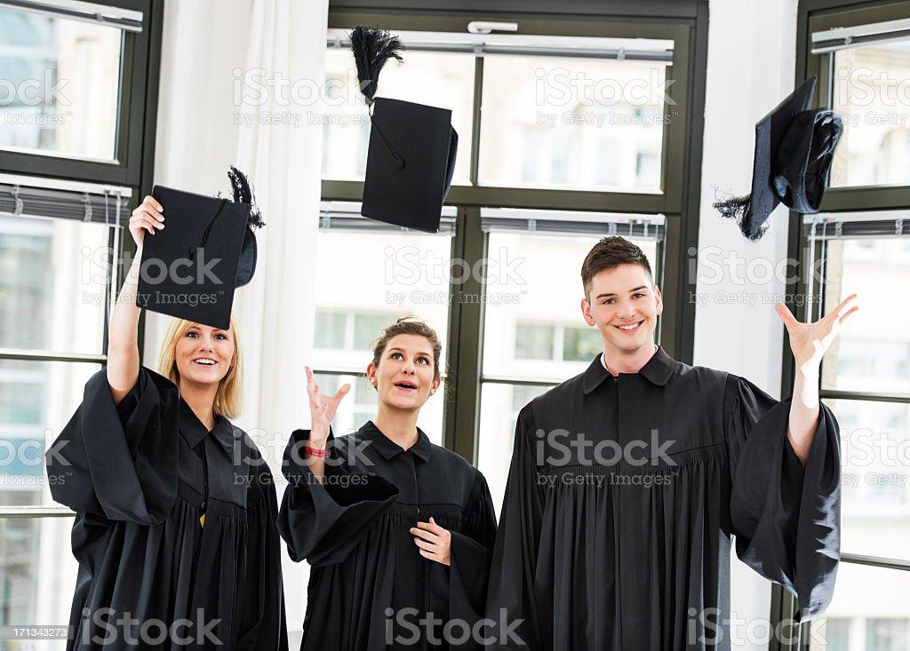 Graduation Day stock photo