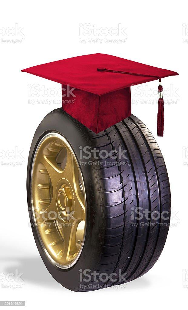 Graduation Gift. stock photo
