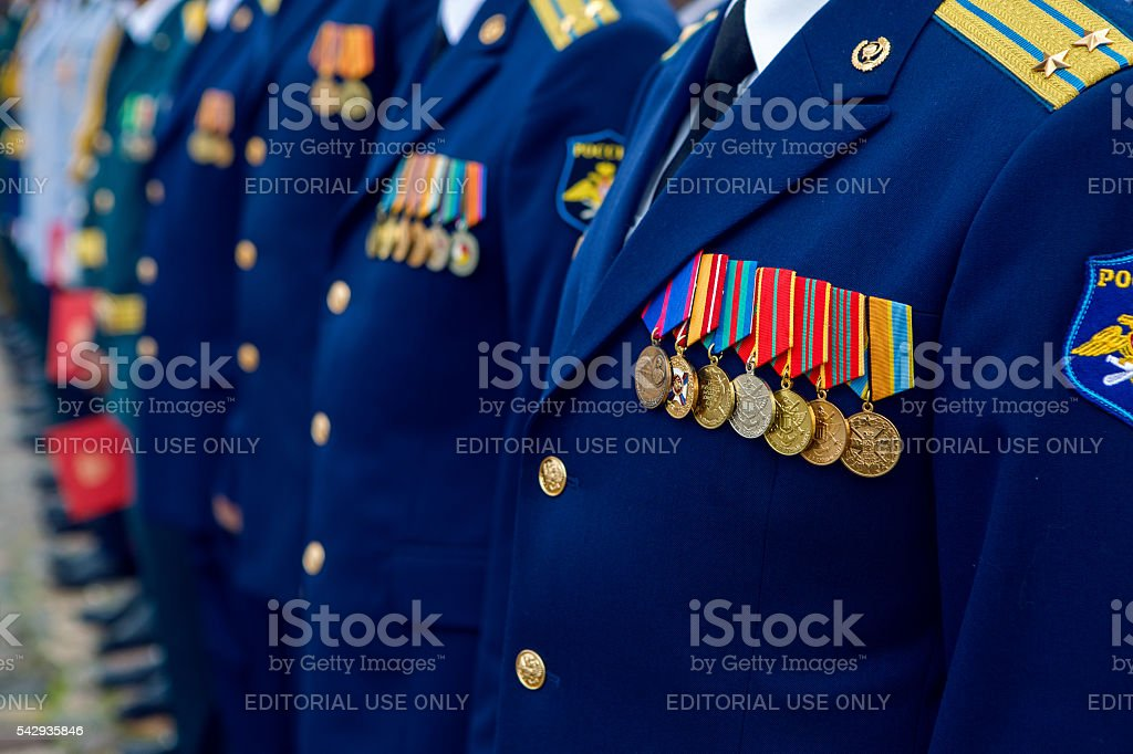 graduation military medics stock photo