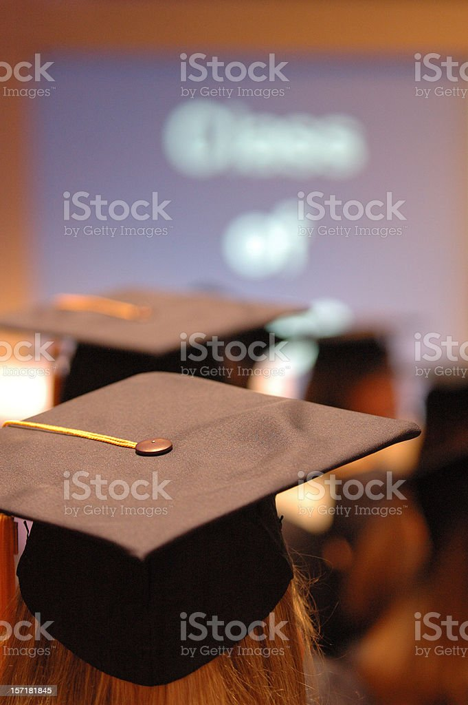 Graduation royalty-free stock photo