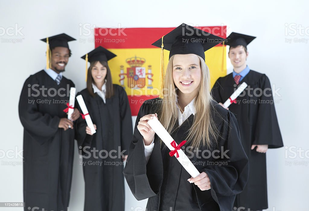 Graduation. royalty-free stock photo