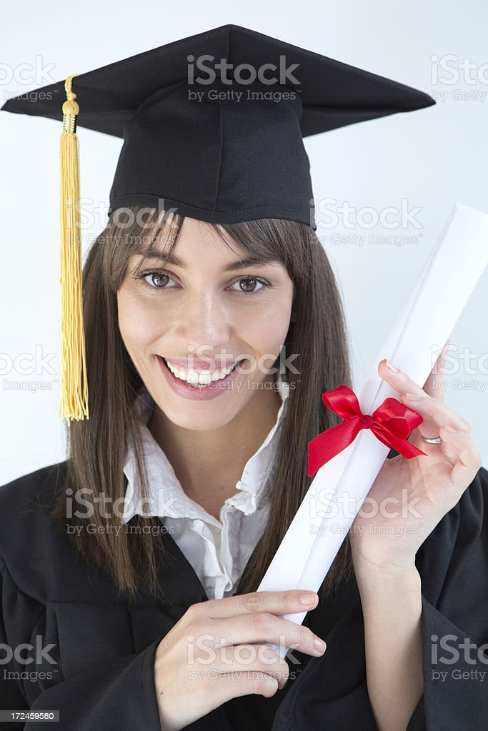 Graduation. royalty-free stock photo