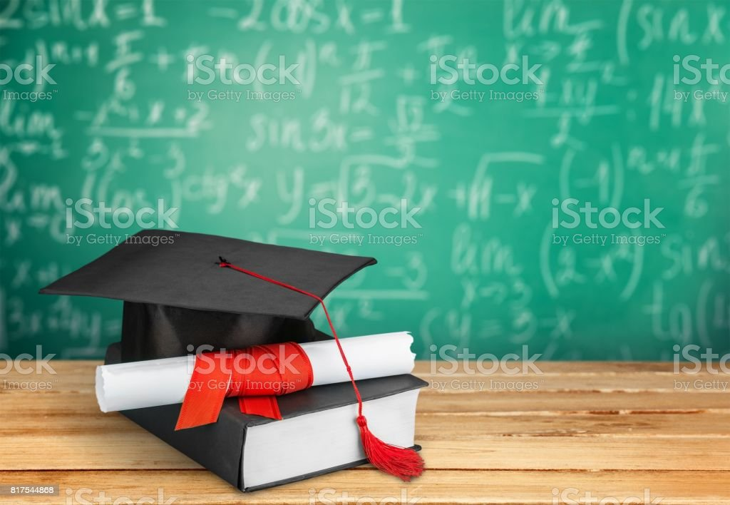Graduation. stock photo