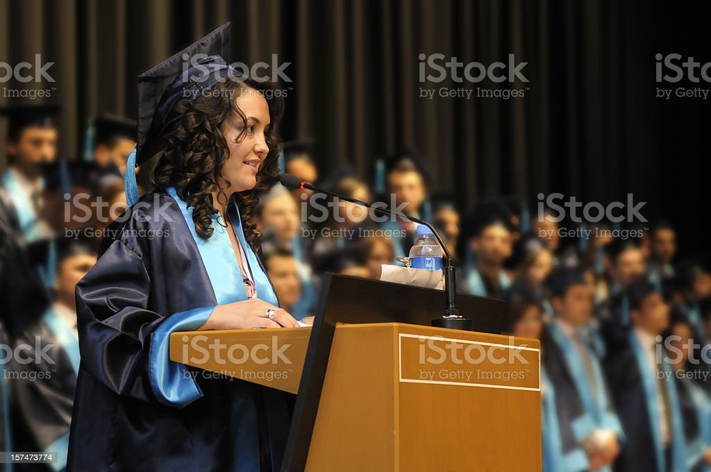Graduation Speech Pictures, Images And Stock Photos - Istock