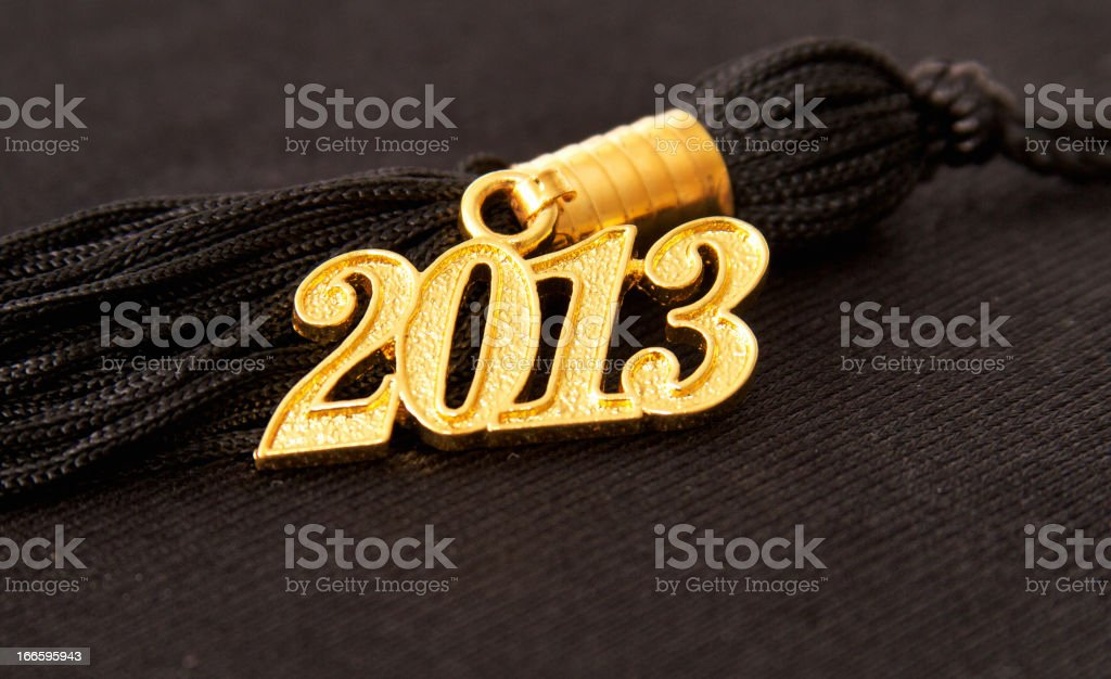 Graduation Tassel royalty-free stock photo
