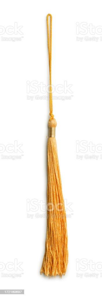 Graduation Tassel stock photo