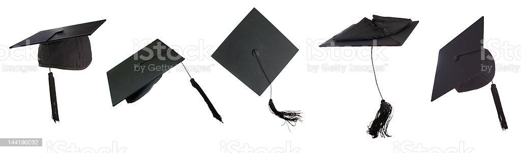 Graduation time stock photo