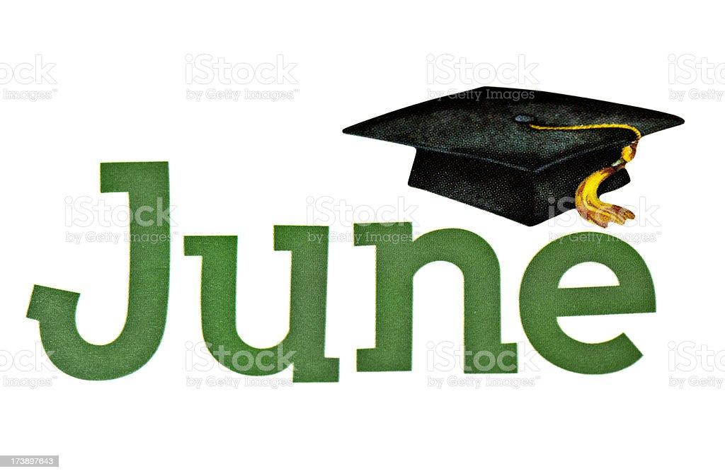 Graduation Time royalty-free stock photo